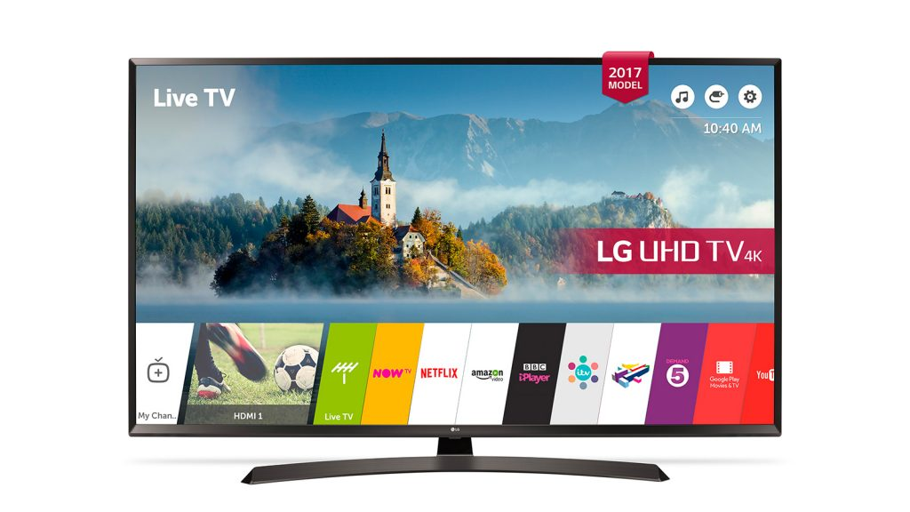 LG 43UJ635V 4K Ultra HD LED TV